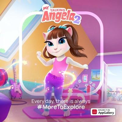 My Talking Angela 2 ya está disponible en AppGallery