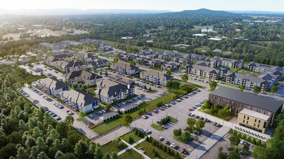 Upland Park, the first master-planned mixed-use project by Nicol Investment, will feature multifamily and senior-living residences, restaurants, retail, office and entertainment, with ample public green space.