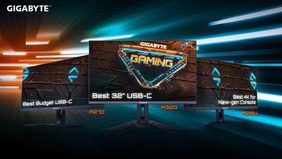 La completa gama de monitores para juegos de GIGABYTE recibió grandes elogios por su rendimiento estelar