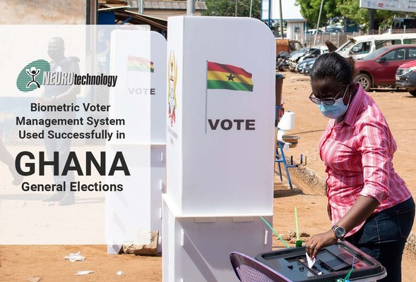 Neurotechnology Biometric Voter Management System Used Successfully in Ghana General Elections